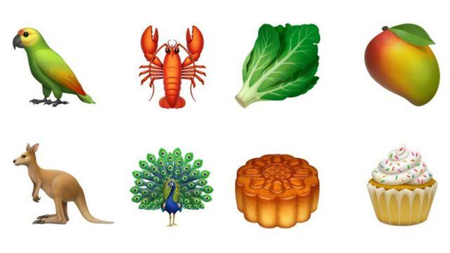 Kengur, paun, jastog, zelena salata, kapkejk su novi emodžiji.