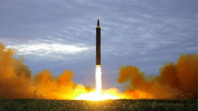 เกาหลีเหนือยิงขีปนาวุธล่าสุด