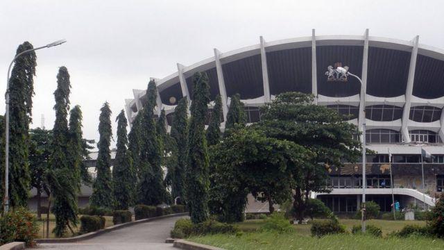 National Theatre for Lagos, Nigeria.