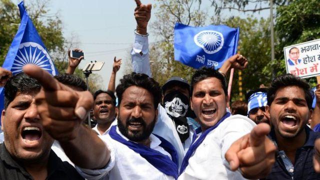 ભારત બંધની તસવીર