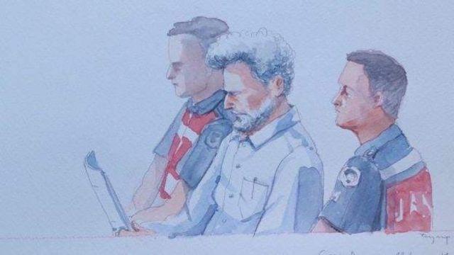 Osman Kavala duruşma çizim