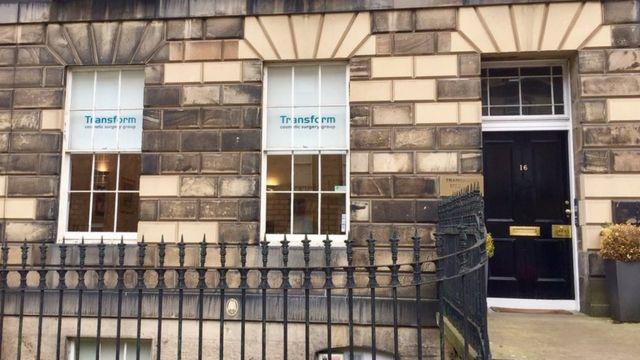 Clínica Transform en Edimburgo.