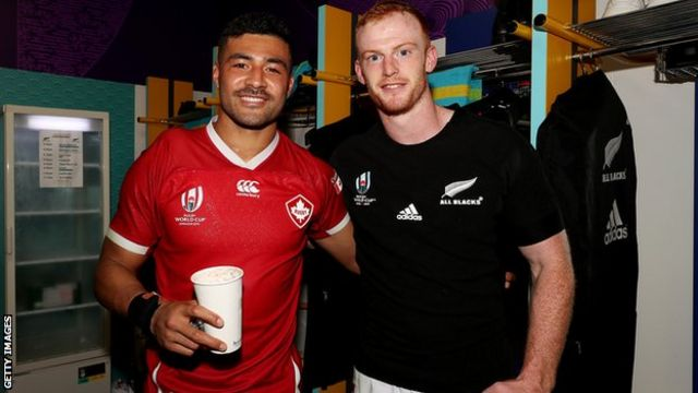 Richie Mo'unga and Peter Nelson