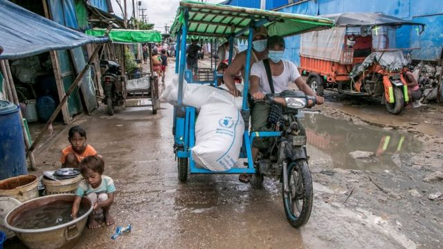 The World Food Programme has been supporting vulnerable people in Yangon