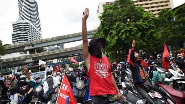 Người dân Thái Lan biểu tình yêu cầu Thủ tướng từ chức ngày 1/8