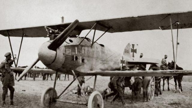Avião alemão usado na 1a Guerra Mundial