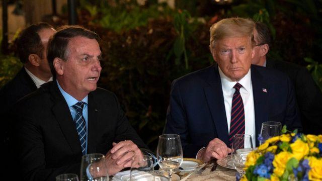 Cinco momentos em que Bolsonaro expressou torcida por Trump e desafeto por  Biden - BBC News Brasil