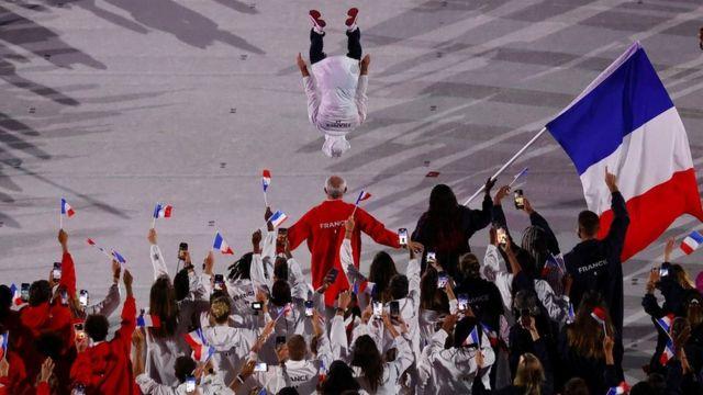 Французские спортсмены