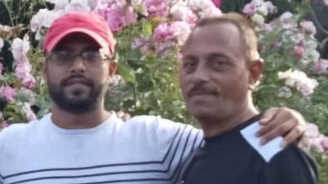 Ramiz and Asif Vora in a family picture