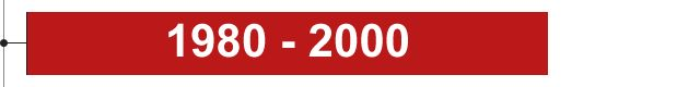1980 - 2000