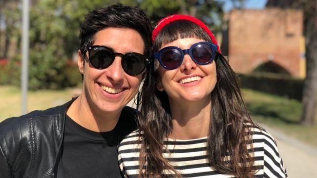 Marina e a esposa