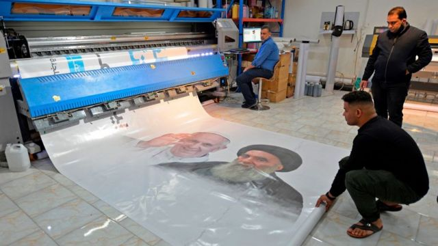 استعدادات للقاء بين بابا الفاتيكان والمرجع الشيعي آية الله علي السيستاني في النجف