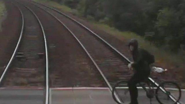 Train near-miss