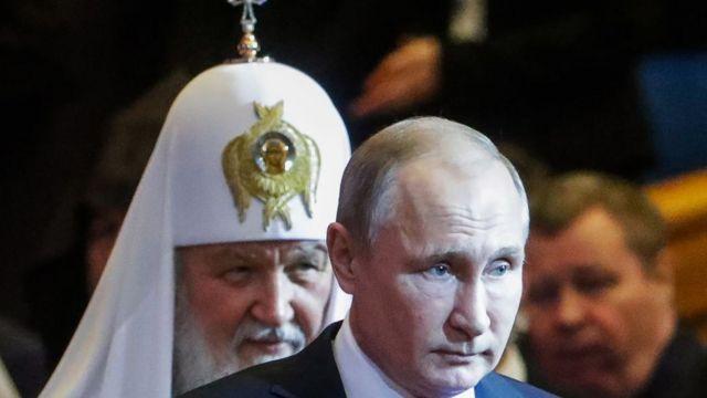 Патріарх і Путін