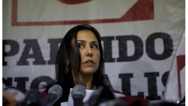 Nadine Heredia es hoy presidenta del Partido Nacionalista Peruano, con el que su marido Ollanta Humala llegó a la presidencia.