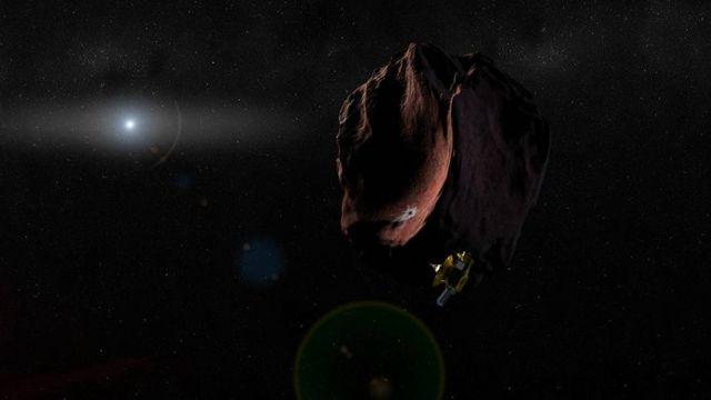 Sonda New Horizons, em foto artística da Nasa