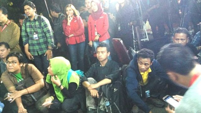 Polisi, wartawan, Ahok