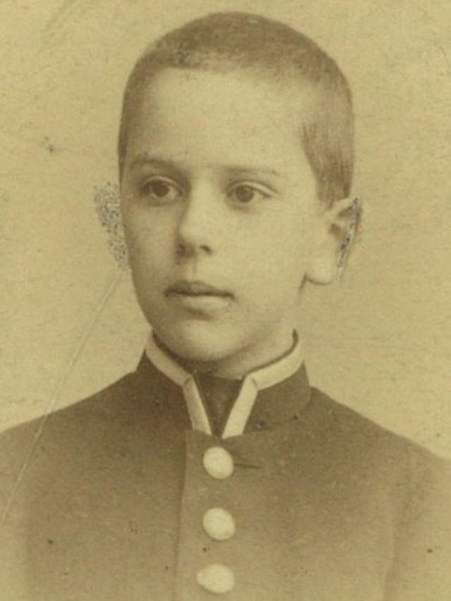 Александр Виленкин - ученик Царскосельской гимназии
