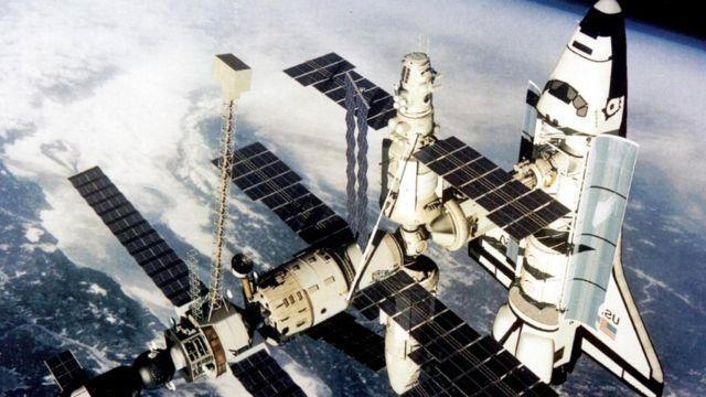 """Космічна станція """"Мир"""""""