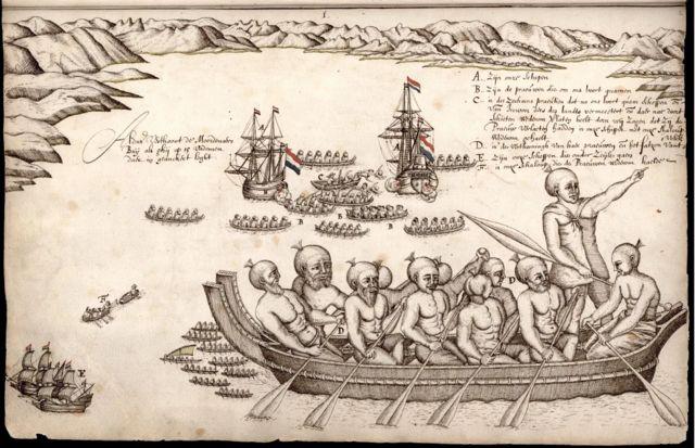 Les navires de Tasman ont quitté la Nouvelle-Zélande après une rencontre sanglante avec les gens de Māori - mais il croyait avoir trouvé le légendaire continent austral