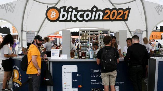 Conferencia Bitcoin 2021 en Miami.