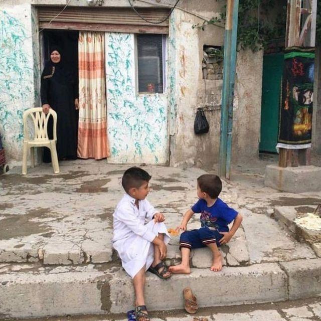 इराकी बच्चे