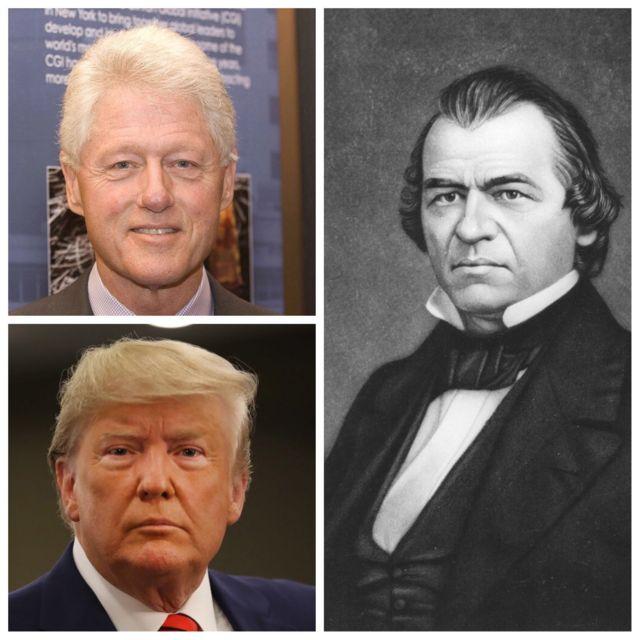 Trong lịch sử Hoa Kỳ, đã có hai Tổng thống bị luận tội là Andrew Johnson và Bill Clinton. Liệu ông Trump có là người kế tiếp?