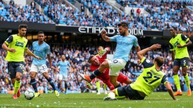 Man City na Huddersfield