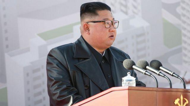 Hoggaamiyaha Kuuriyada Waqooyi Kim Jong-un
