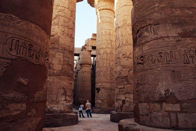 معبد فرعوني