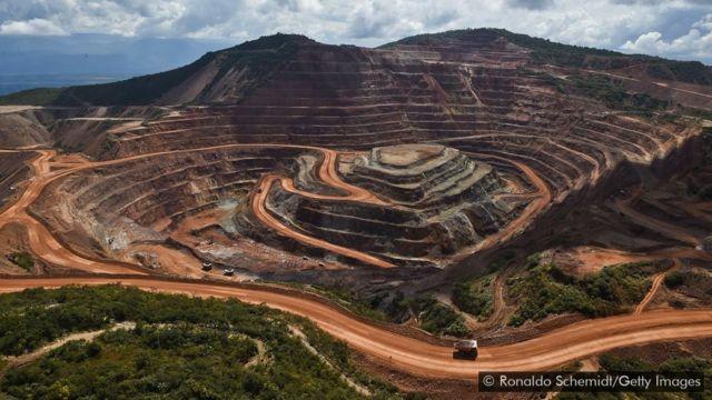 Mina de ouro Los Filos, no México
