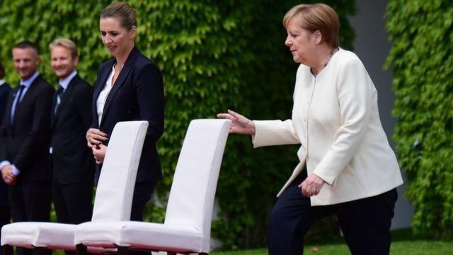 Merkel: The steady woman whose shaking has touched a nation