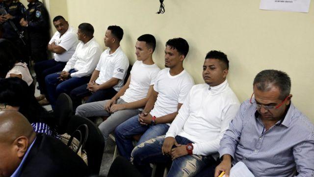 Acusados por el asesinato de Berta Cáceres