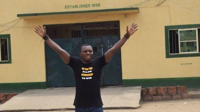 Agba Jalingo afta dem free am on February 17, 2020