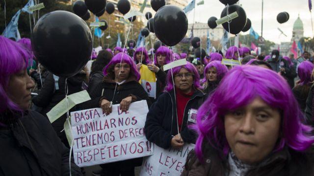 Protestas Ni una menos