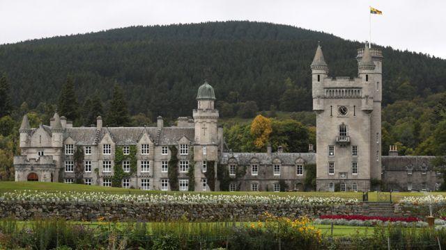 Замкок Балморал в Шотландии