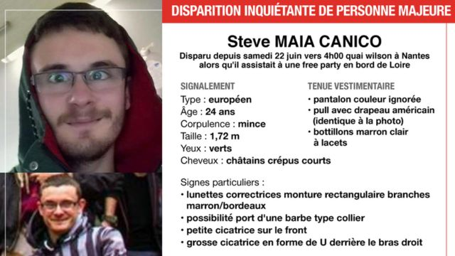 French police under fire over man missing at Nantes party