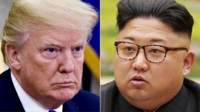 trump na Kim