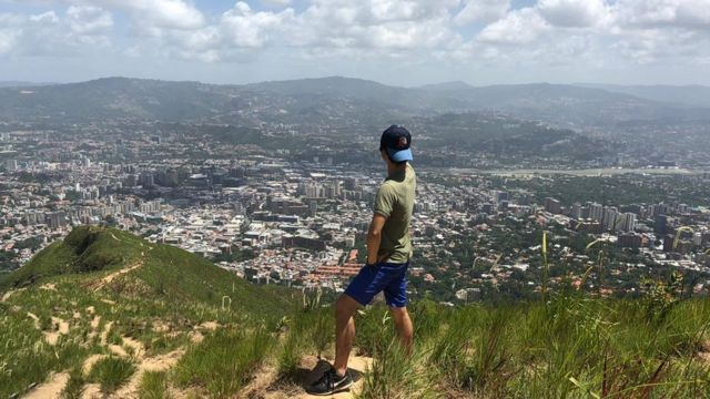 Koichiro en Caracas.
