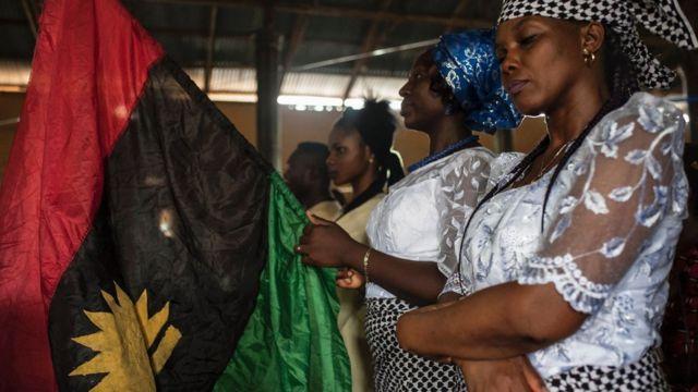 Ụmụnwaanyị bu ọkọlọtọ Biafra
