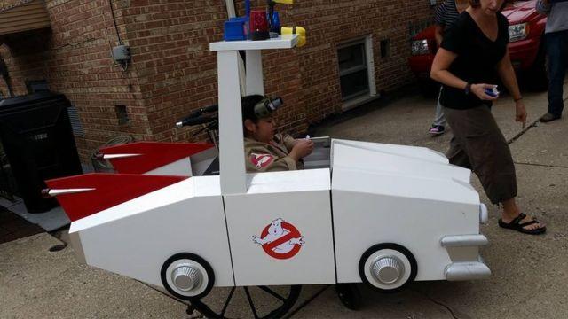 Ghostbusters truck