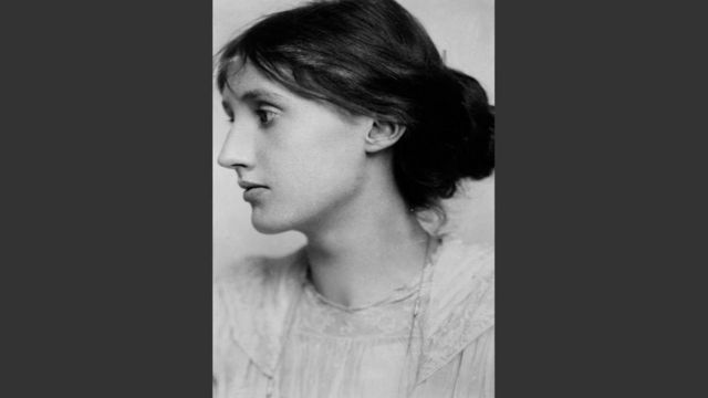 Retrado da escritora Virginia Woolf