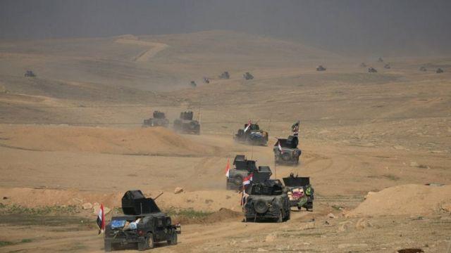 အီရတ်တပ်တွေ မိုဆူးလ်မြို့အစပ်ကို ရောက်ရှိ