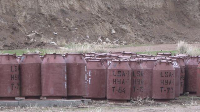 Кызыл-Омпол аймагындагы атайын идиштер