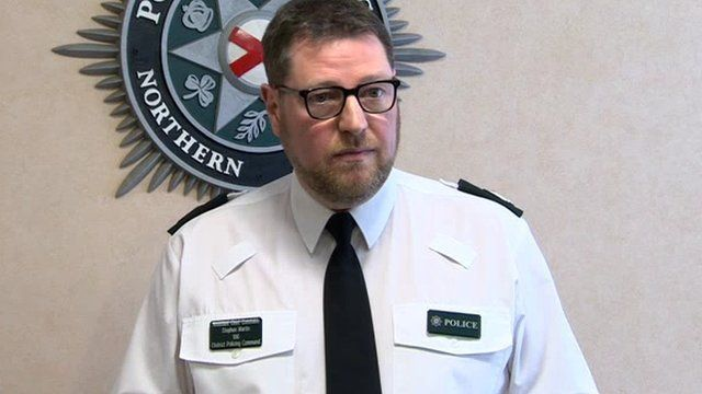 Assistant Chief Constable Stephen Martin said the PSNI were 'deeply concerned' by the current threat posed by dissident republicans