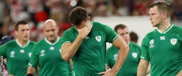 Ireland are ranked number two in the world but proved no match for tournament hosts Japan