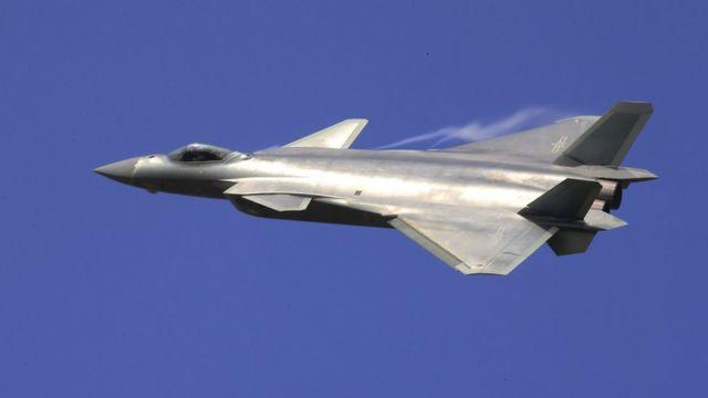 الطائرة المقاتلة جي- 20 الصينية