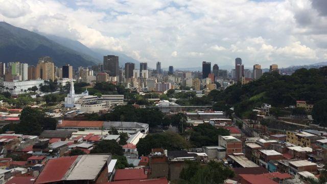 Toàn cảnh Caracas