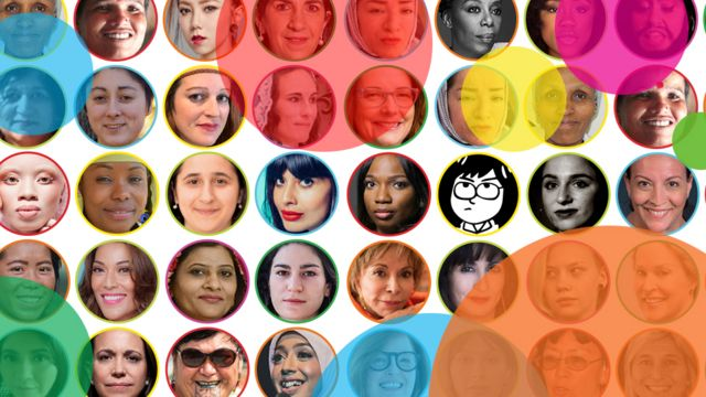 Some of the BBC's 100 Women 2018