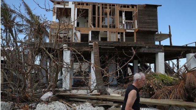 Irma kasırgası hasarları